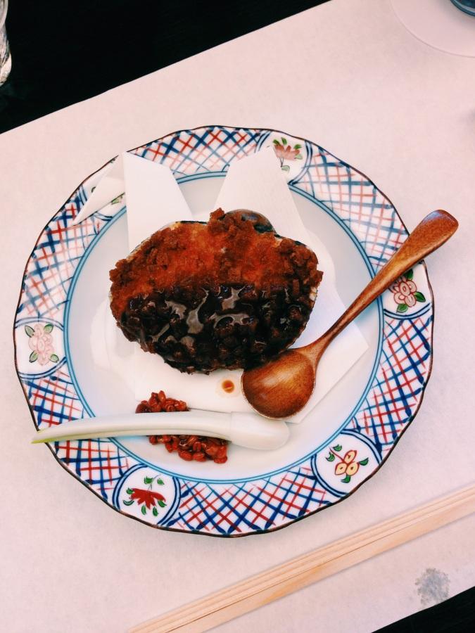 Fried dish at Kigawa